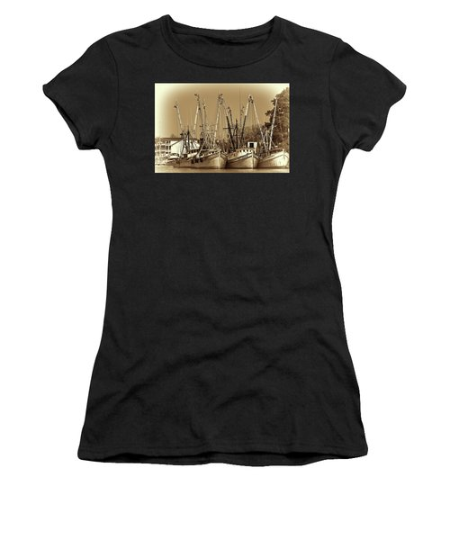 Georgetown Shrimpers Women's T-Shirt (Athletic Fit)