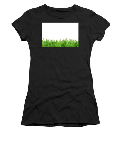 Green Grass Women's T-Shirt (Athletic Fit)