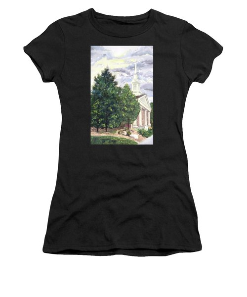 Hale Street Chapel Women's T-Shirt (Athletic Fit)