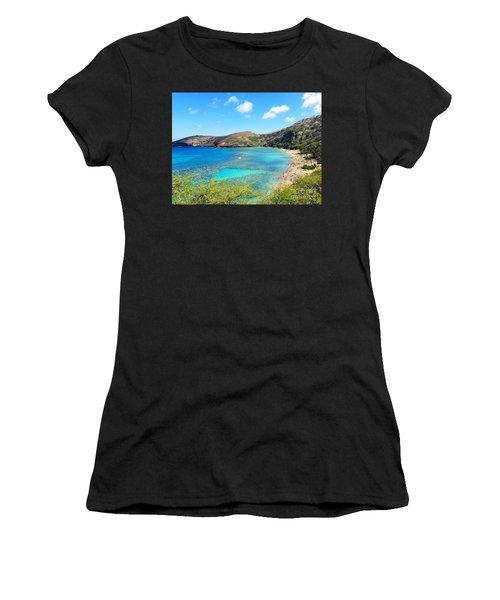 Hanauma Bay Women's T-Shirt (Athletic Fit)