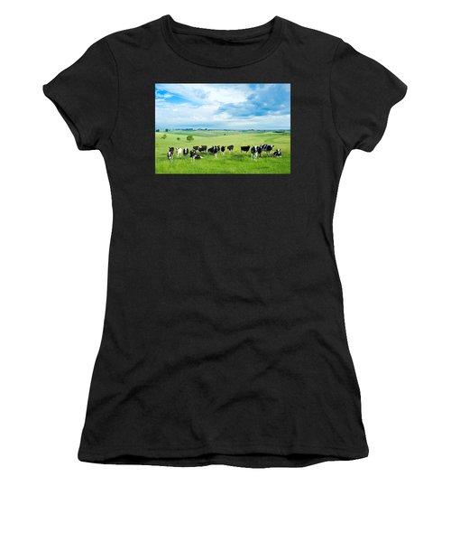 Happy Cows Women's T-Shirt