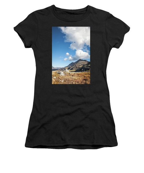 High Country In Fall Women's T-Shirt (Athletic Fit)