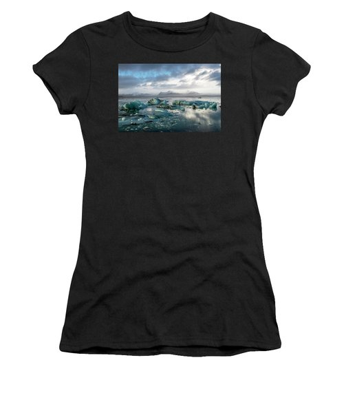 Jokulsarlon, The Glacier Lagoon, Iceland 3 Women's T-Shirt