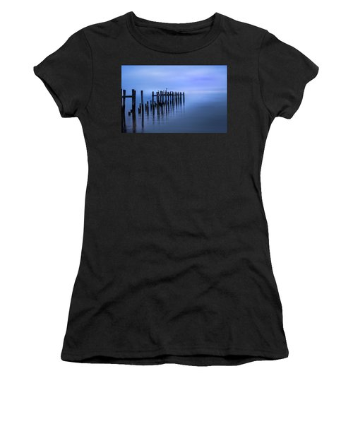 Women's T-Shirt featuring the photograph Colorful Overcast At Twilight by James Woody
