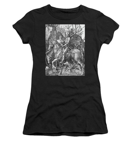Knight Death And The Devil Women's T-Shirt