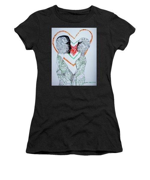Love Is A Heart Women's T-Shirt