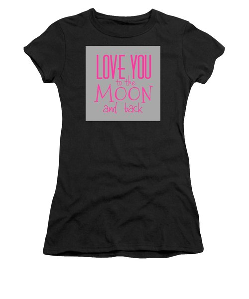 Love You To The Moon And Back Women's T-Shirt