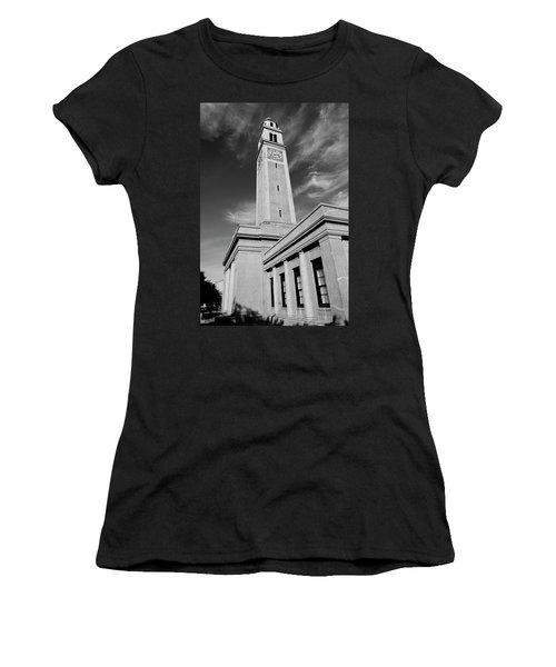 Memorial Tower - Lsu Bw Women's T-Shirt (Athletic Fit)