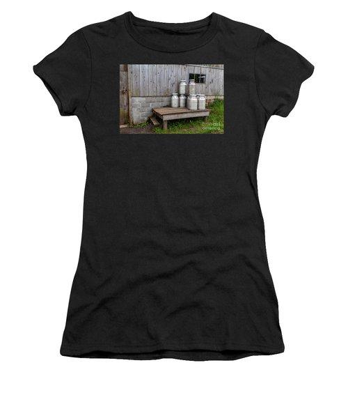 Milk Cans Women's T-Shirt