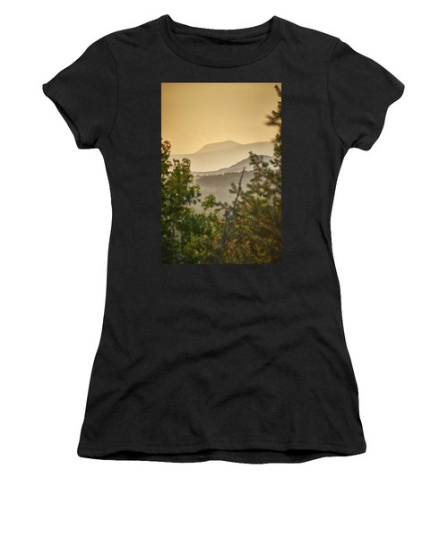 Mountains In The Distance Women's T-Shirt