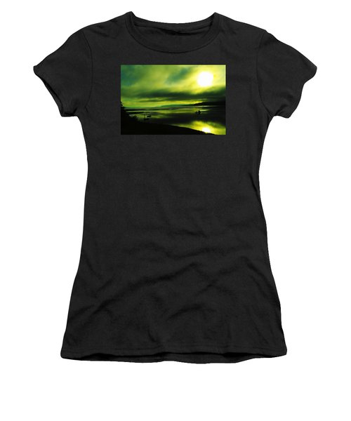 On Golden Waters  Women's T-Shirt