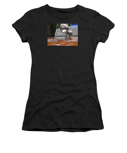 1050's Outboard Runabout Women's T-Shirt (Athletic Fit)