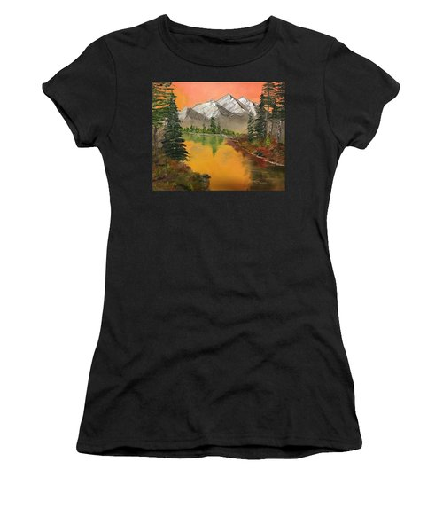 Pine Lake Women's T-Shirt (Athletic Fit)