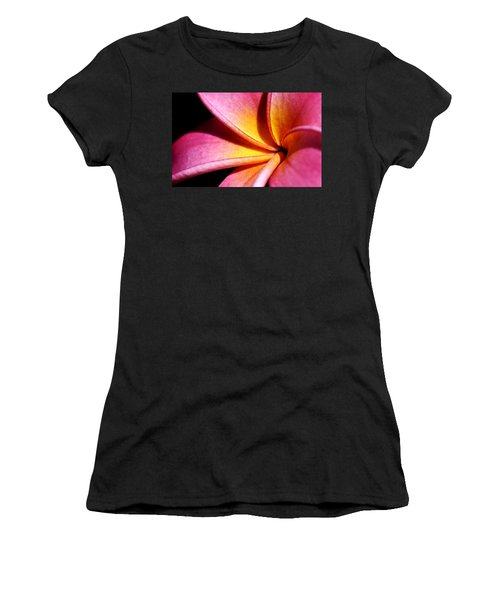 Plumeria Flower Women's T-Shirt (Athletic Fit)