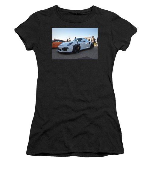 Porsche 911 Gt3rs Women's T-Shirt (Athletic Fit)