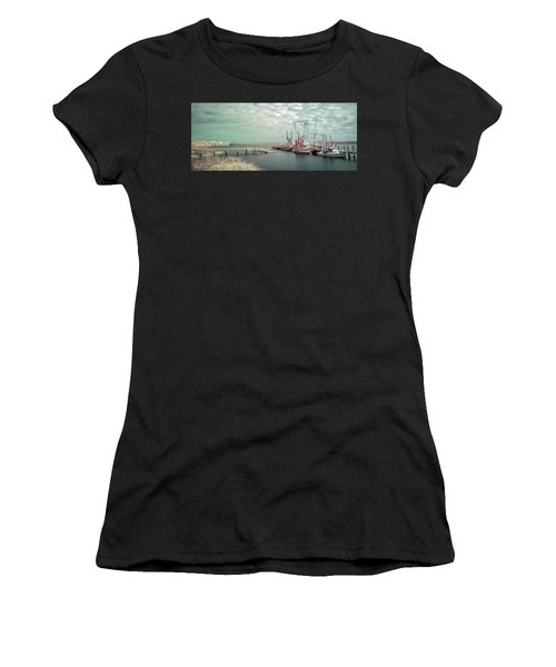 Port Royal Shrimp Boats Women's T-Shirt