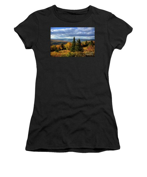 Rangeley Overlook Women's T-Shirt (Athletic Fit)