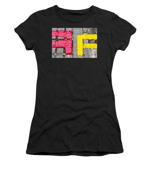 Road Markings Women's T-Shirt