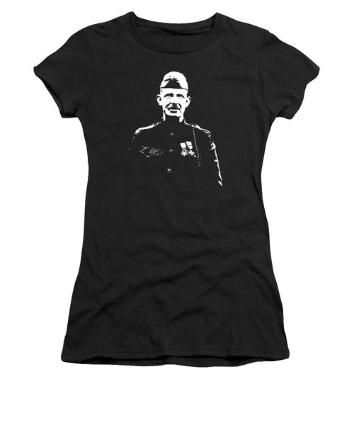 Sergeant Alvin York Graphic Women's T-Shirt (Athletic Fit)