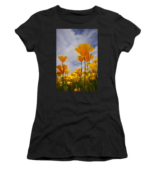 Springtime Poppies  Women's T-Shirt