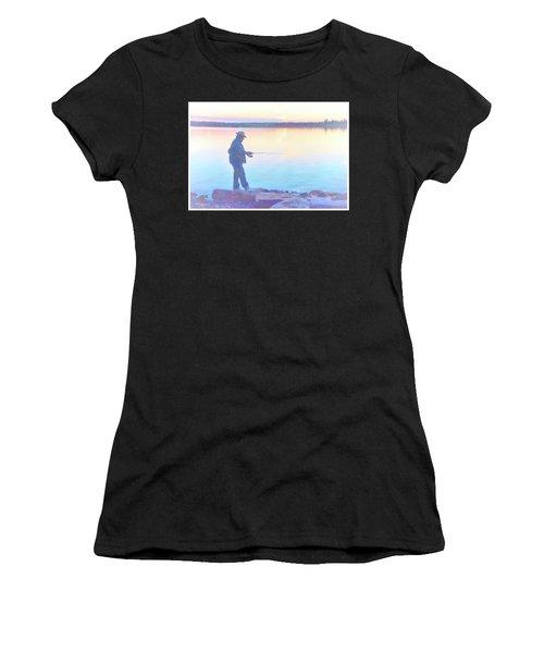 Sunrise Fisherman Women's T-Shirt
