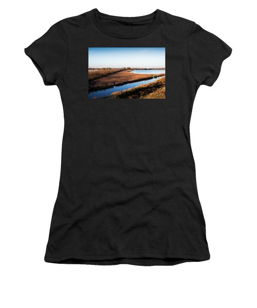 Sunrise In The Ditch Burlamacca Women's T-Shirt (Athletic Fit)