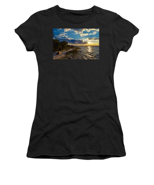 Sunset On The Cape Fear River Women's T-Shirt