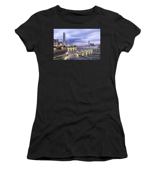 Sunset Over Hong Kong Women's T-Shirt