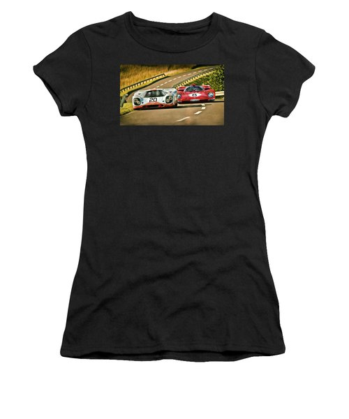 The Duel Women's T-Shirt (Athletic Fit)