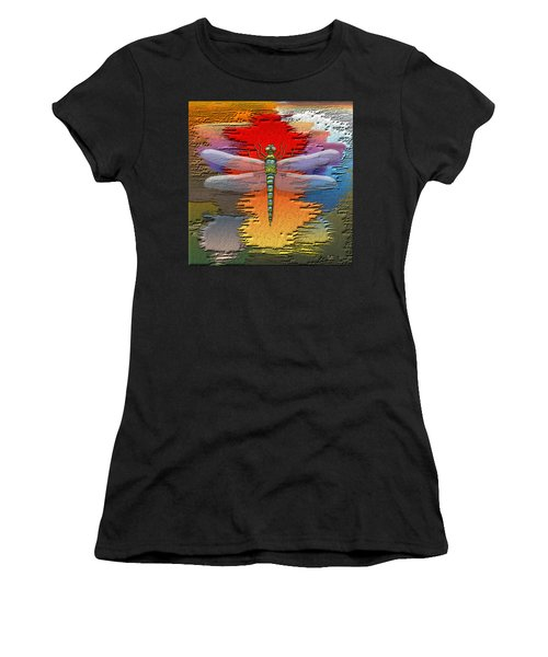 The Legend Of Emperor Dragonfly Women's T-Shirt (Athletic Fit)