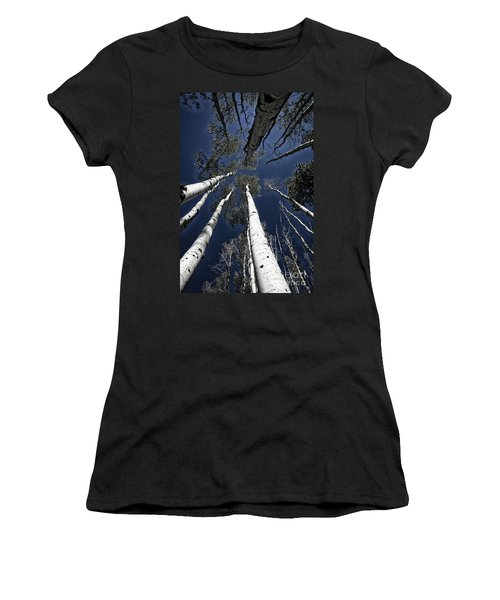 Towering Aspens Women's T-Shirt (Athletic Fit)