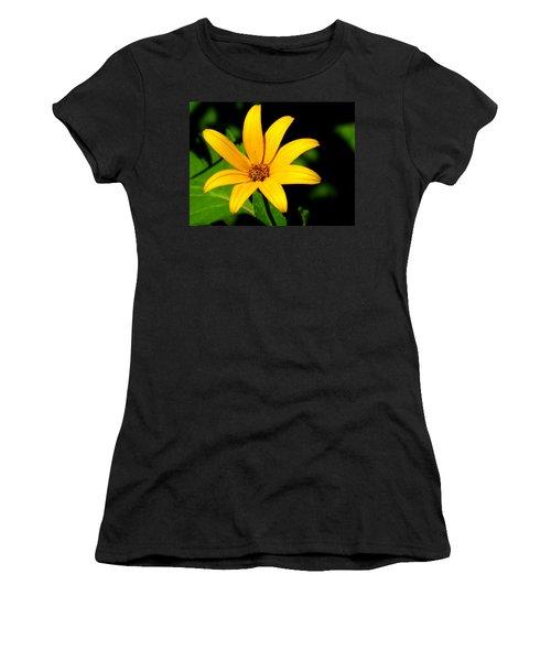 Wild Flower Women's T-Shirt (Athletic Fit)