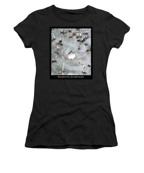 Winter Mockingbird Women's T-Shirt