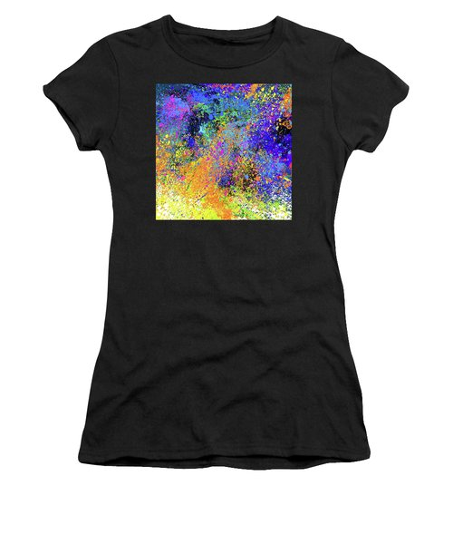 Abstract Composition Women's T-Shirt (Athletic Fit)