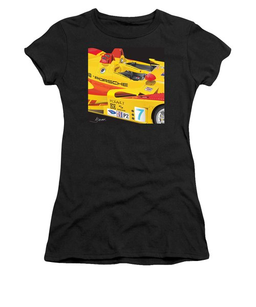2008 Rs Spyder Illustration Women's T-Shirt (Athletic Fit)