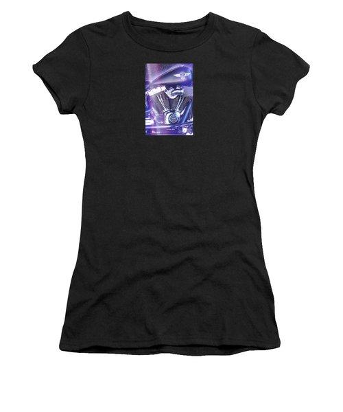 2012 Harley Davidson Fat Boy Women's T-Shirt (Athletic Fit)