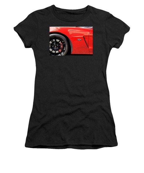 2013 Corvette Women's T-Shirt (Athletic Fit)