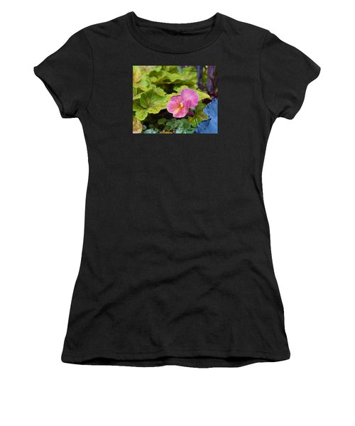 2015 After The Frost At The Garden Pansies 3 Women's T-Shirt