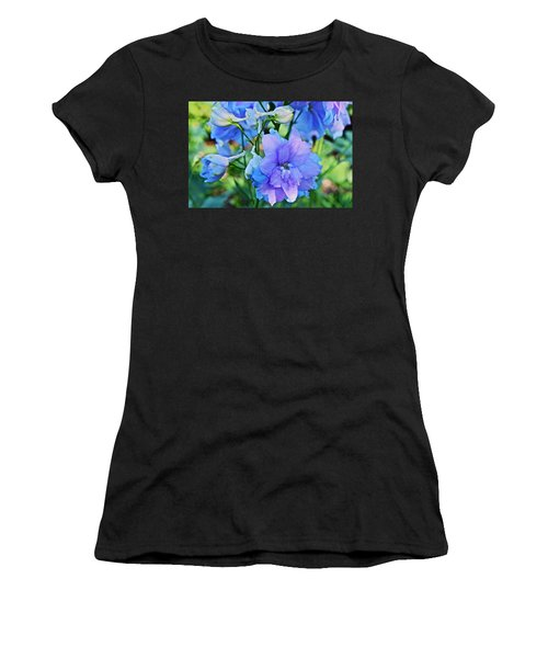 2015 Mid September At The Garden Larkspur 2 Women's T-Shirt