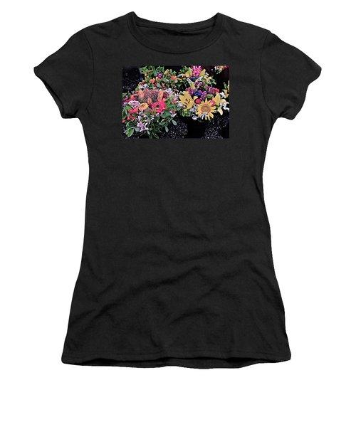 2015 Monona Farmers Market Flowers 1 Women's T-Shirt