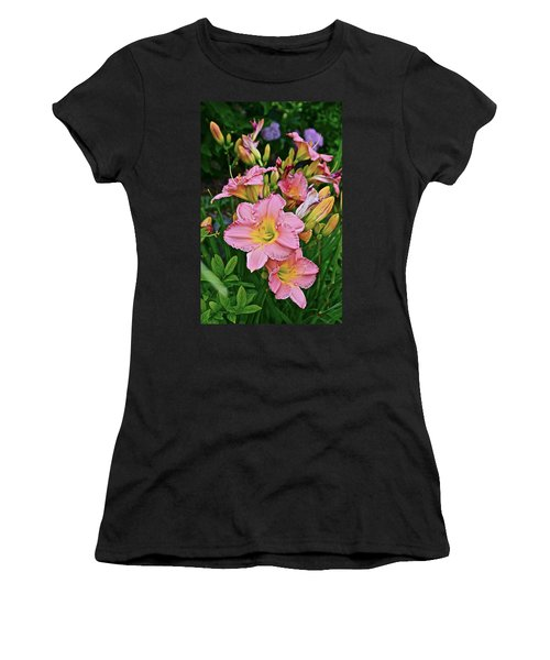 2015 Summer At The Garden Daylilies 1 Women's T-Shirt
