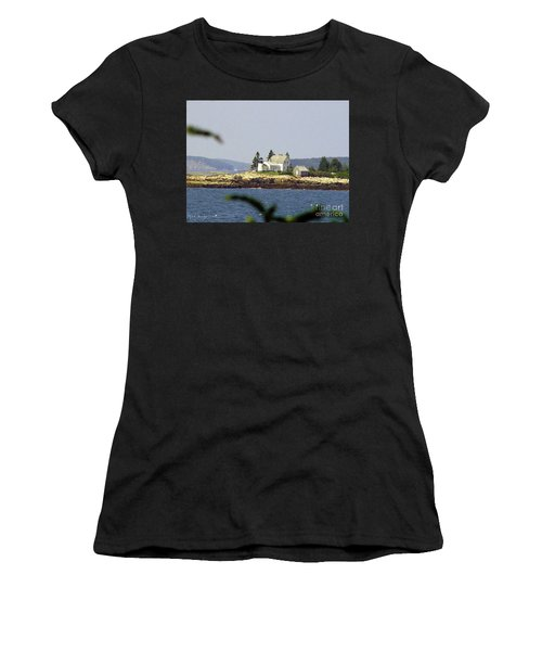 2015 Winter Harbor Light Women's T-Shirt