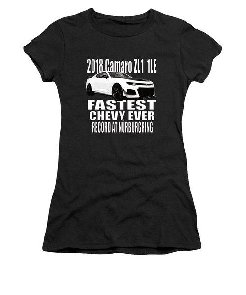2018 Camaro Zl1 1le Women's T-Shirt (Athletic Fit)