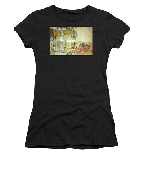 the ole' West my way album Women's T-Shirt (Athletic Fit)