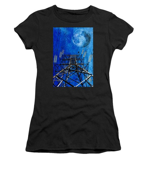 Electric Power Transmission... Women's T-Shirt (Athletic Fit)