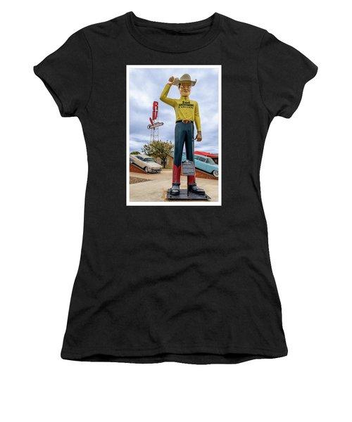 2nd Amendment Cowboy Women's T-Shirt (Athletic Fit)