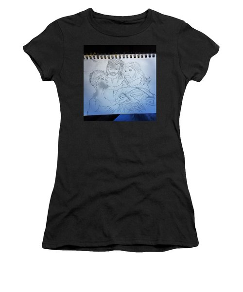 Adam Andeve The Creation Story Women's T-Shirt