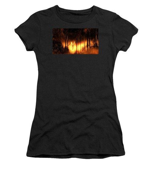 Alien Angel By Raphael Terra Women's T-Shirt