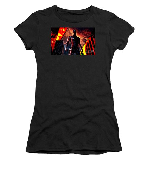 Daredevil Collection Women's T-Shirt (Athletic Fit)