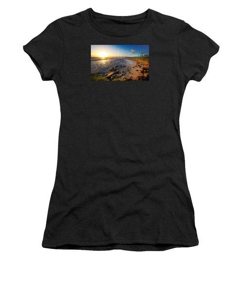 3 Degrees Below The Sun Women's T-Shirt (Junior Cut) by Robert Och